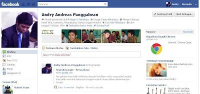 tampilan facebook lama