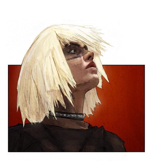 Prissy Cyborg por LukeDenby