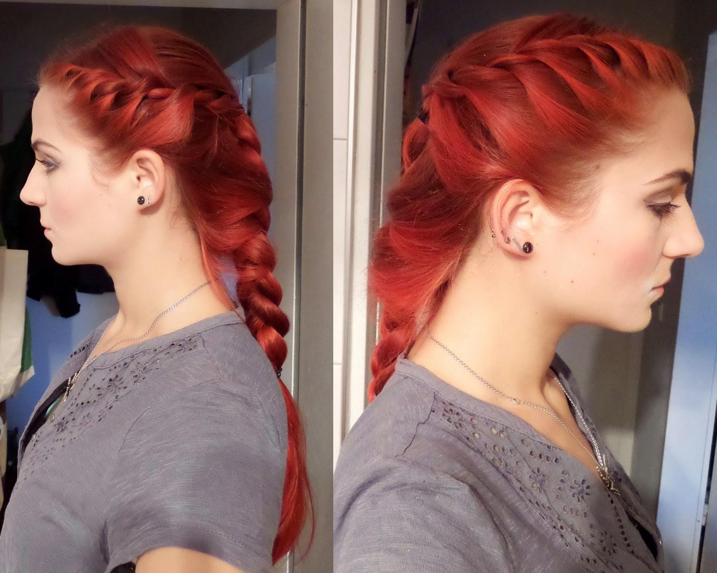 [Mädchenkram] Haare - Sonntagsfrisur #5