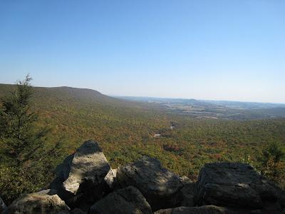 East Rocks Lookout Hawk Mountain Sanctuary Kempton Pennsylvania PA 19529