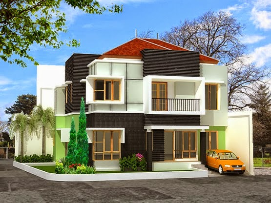Asian House Exterior Design