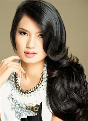 Foto Model  Rambut Gelombang
