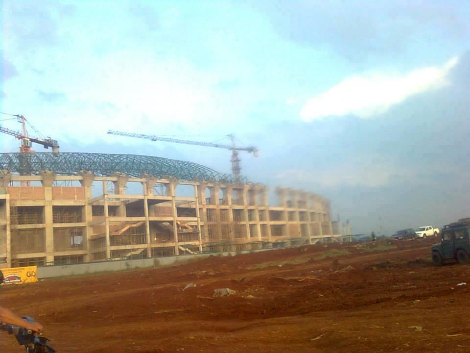 Update Foto Terbaru Stadion Pakansari Bogor Bulan Juli 2013