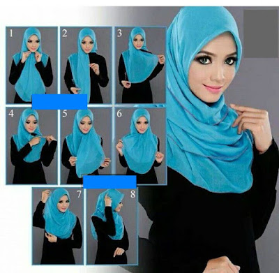 Tutorial Hijab Simple dan Terbaru