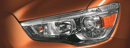 Lampu Depan Mobil Mitsubishi Outlander