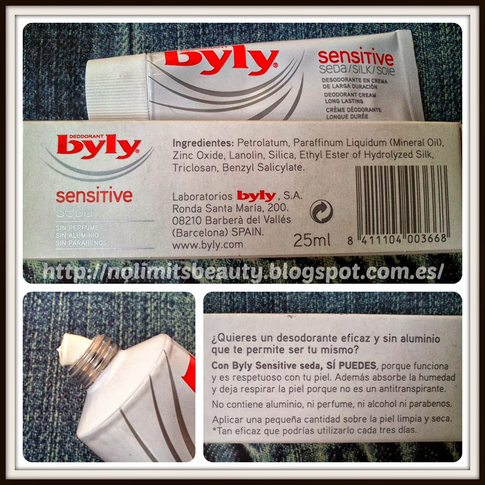 Desodorante Byly Sensitive Seda: review