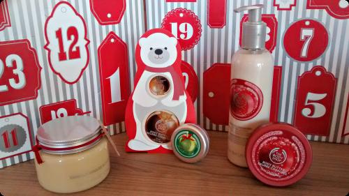 The Body Shop Weihnachtsserien und Geschenksets