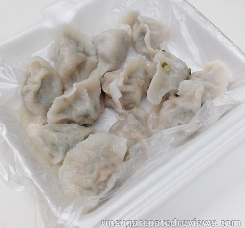 dumplings sold by Fu Dao Shui Jiao