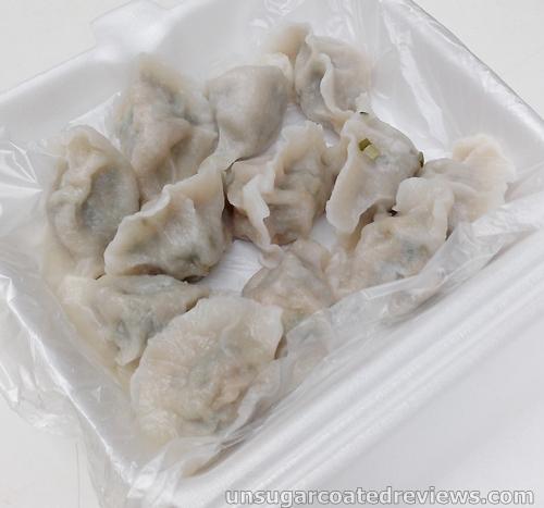 dumplings sold by Fu Dao Shui Jiao
