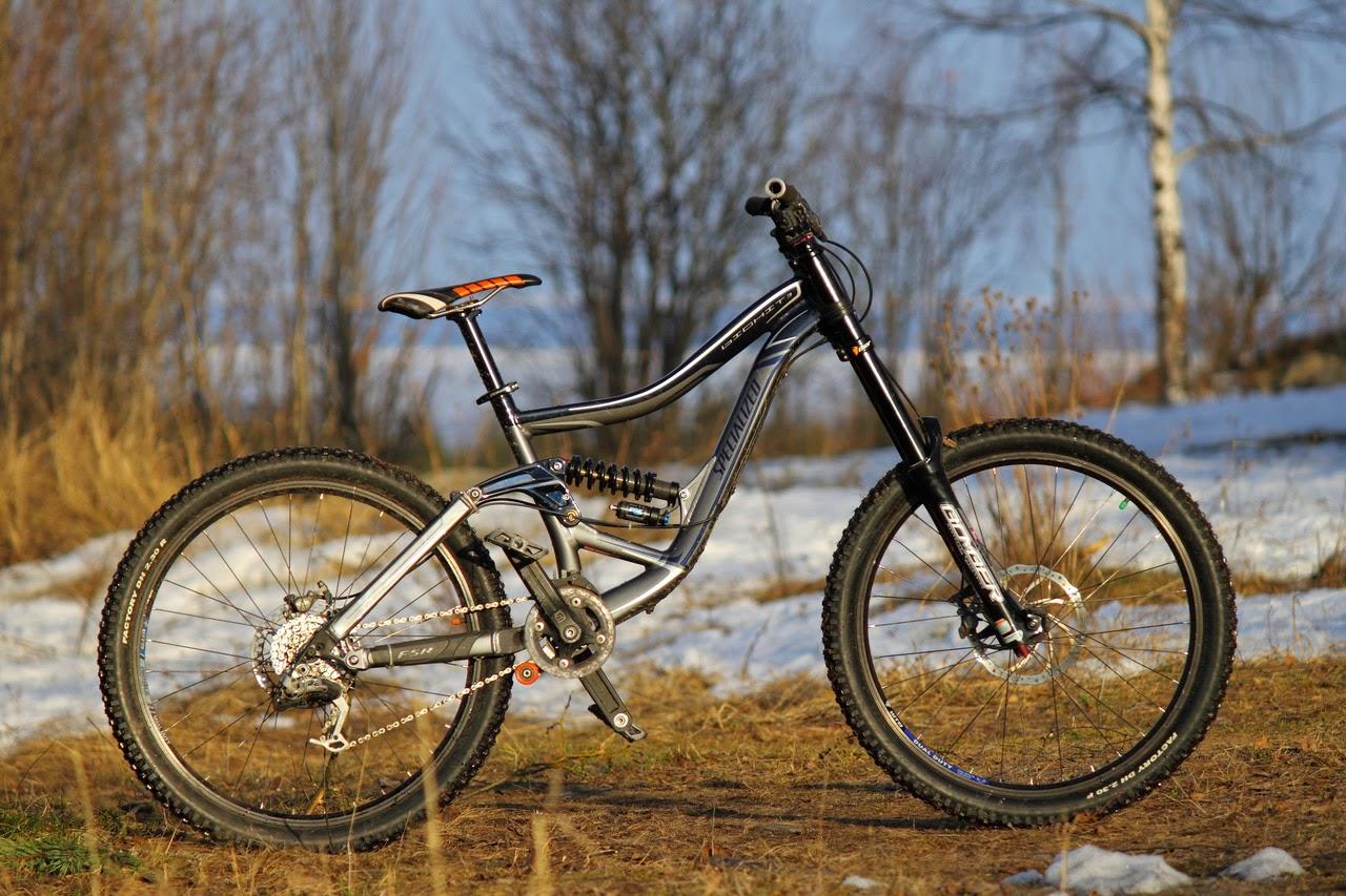Van S Mountain Bike My Brand New Specialized Big Hit 2010 Custom