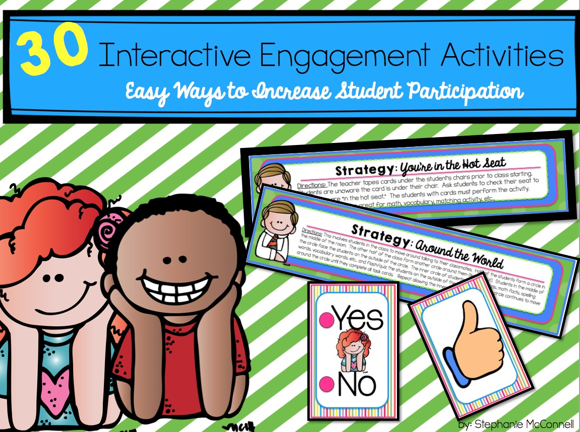 Classroom Engagement Ideas ~ Interactive student engagement activities principal