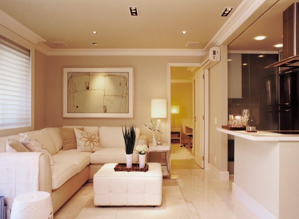 Construindo minha casa clean d vida de decora o sala de - Sala de estar ...