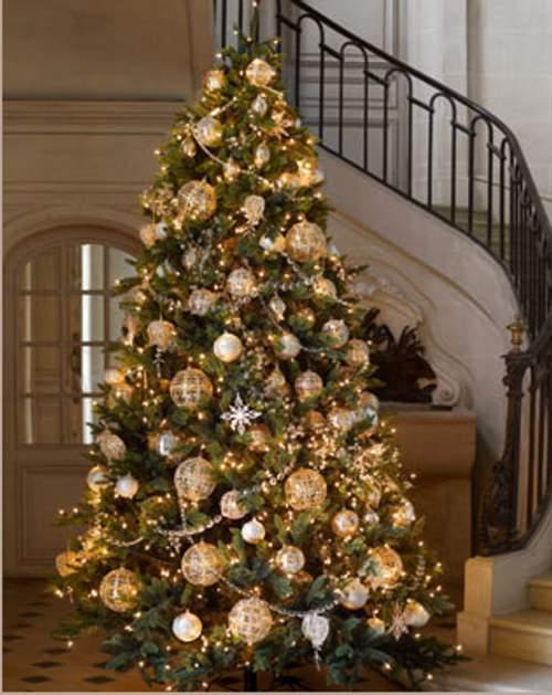 rbol de Navidad Decorado