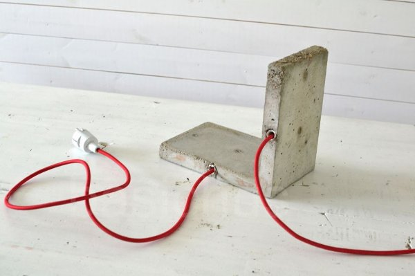 Vosgesparis Diy For Your Home Concrete Lamp