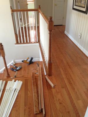 Floor Installation Photos Bruce Oak Butterscotch Hardwood