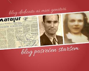 blog dedicato ai miei genitori V.TEDOLDI e J.MIKLAVČIČ