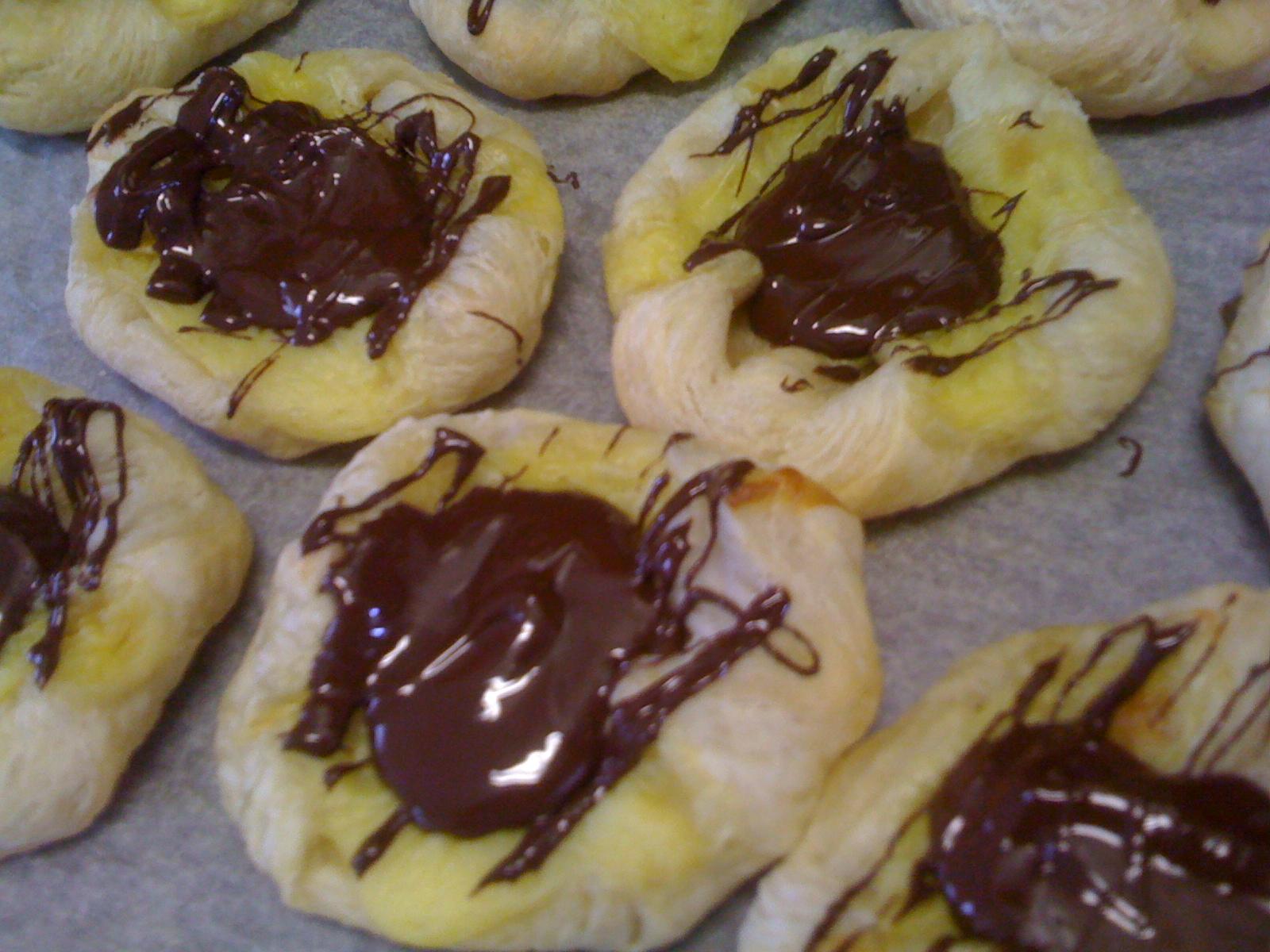 danska wienerbröd med choklad recept