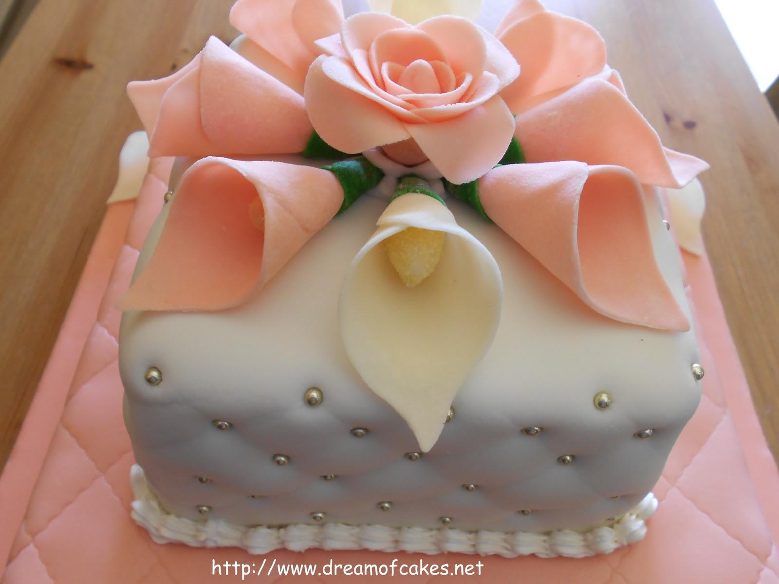 Идеи свадебных тортов из мастики фото