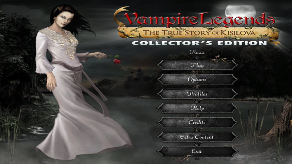 Vampire Legends: The True Story of Kisilova Collector's Edition free download