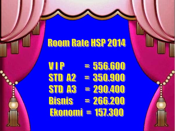 Room Rate 2014