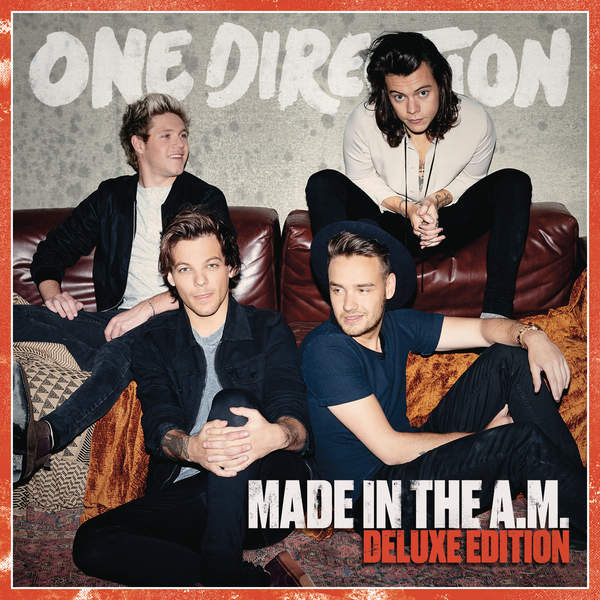 One Direction - Made In The A.M. (Deluxe Edition) Cover