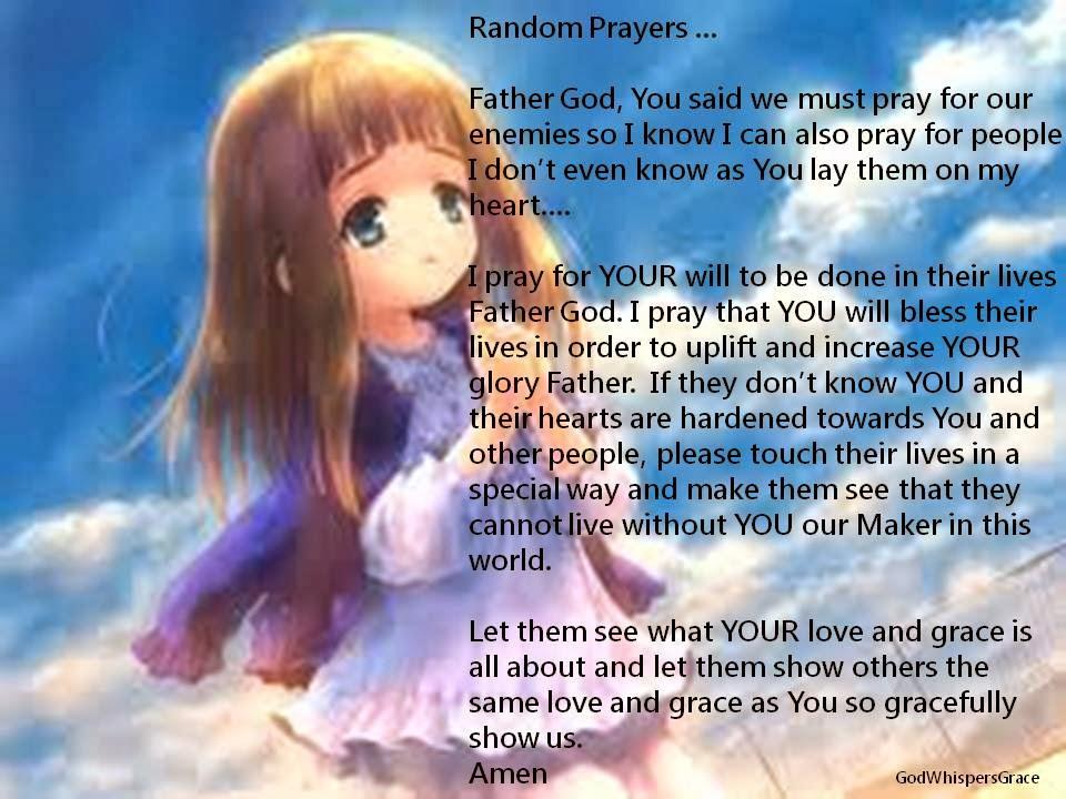 godwhispersgrace prayers from my heart