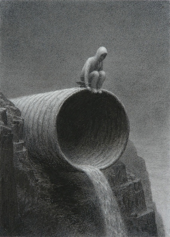 Aron Wiesenfeld: Drain Pipe