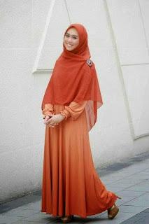 Baju Muslimah Lebaran Untuk Ibu Hamil