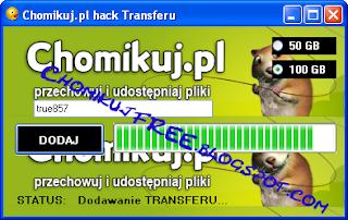 chomikuj generator transferu