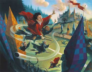 Book-quidditch, as opposed to movie-quidditch