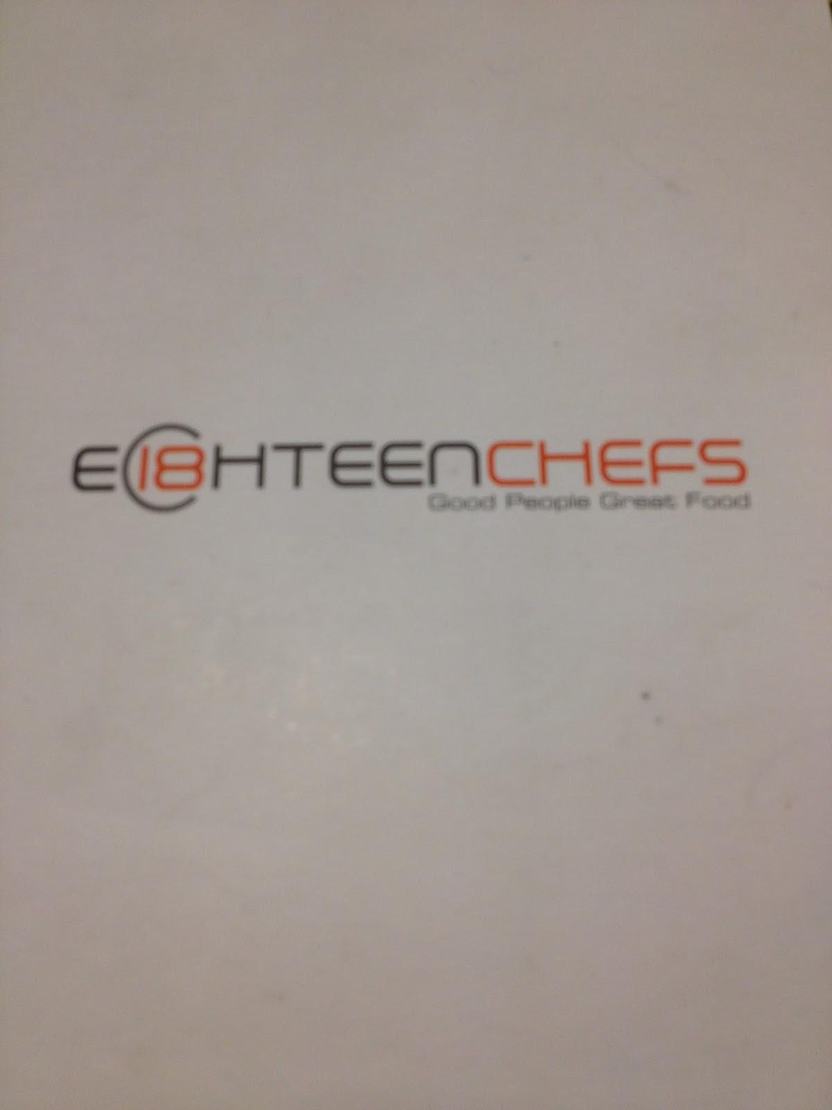 Food review eighteen chefs singapore - Eighteen Chef Food Review Food Review