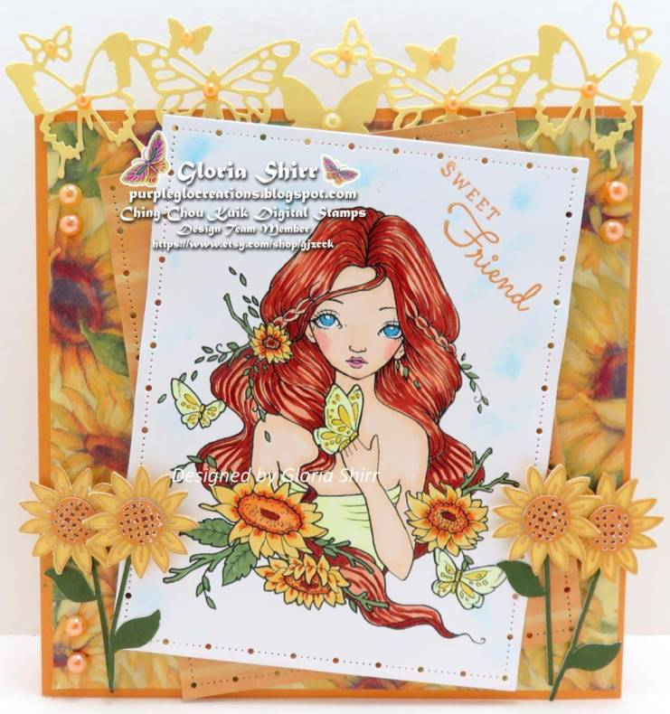 Featured Card at The Fairy and The Unicorn Challenge