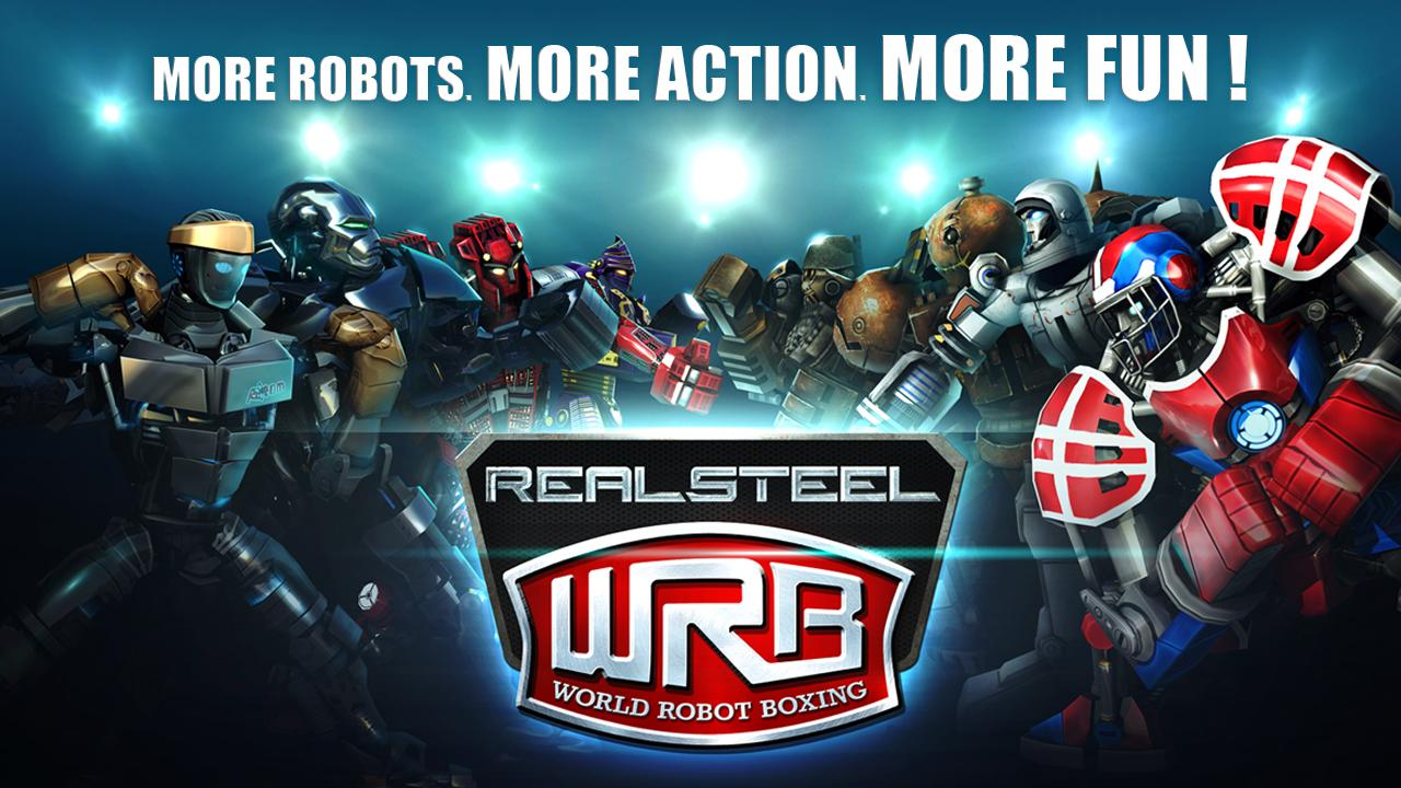 Real Steel World Robot Boxing v2.1.27 android hack for money mod unlimited data APK