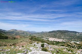 Panorámica del Valle de Valdepeñas de Jaén