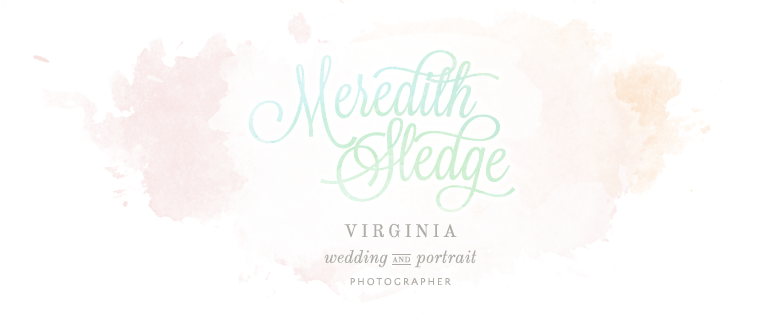 Charlottesville Virginia + San Diego California Wedding Photographer - Meredith Sledge Photography
