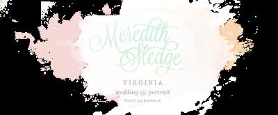 Charlottesville Virginia + San Diego California Wedding Photographer - Meredith Sledge Photography