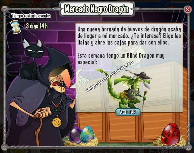 imagen del blind dragon en el mercado negro del dragon