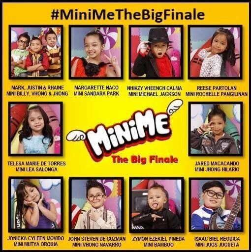 Mini Me Grand finalist It's Showtime