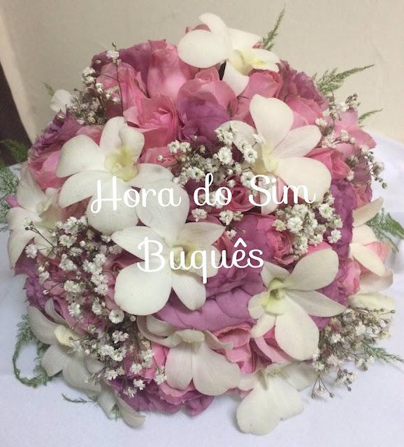 (649)Buquê de Noiva Romântico