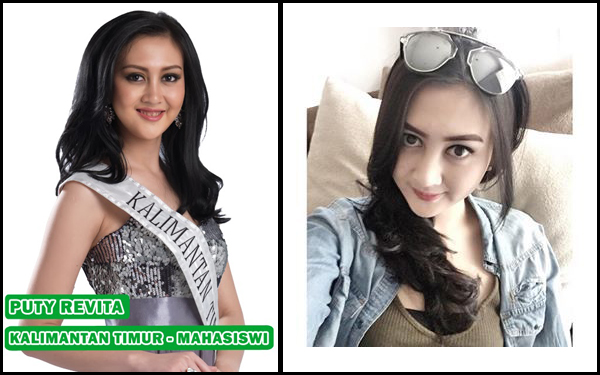 Puti Revita Finalis Miss Indonesia 2014