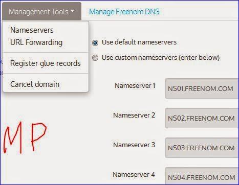 cara mengaktifkan domain dari freenom.com