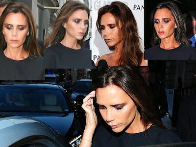 Posh Spice Victoria Beckham plastic surgery scary