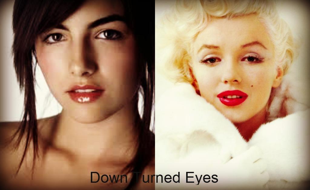 Downturned eyes ethnicity