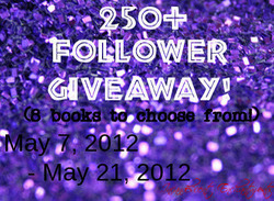 250+ Follower Giveaway!