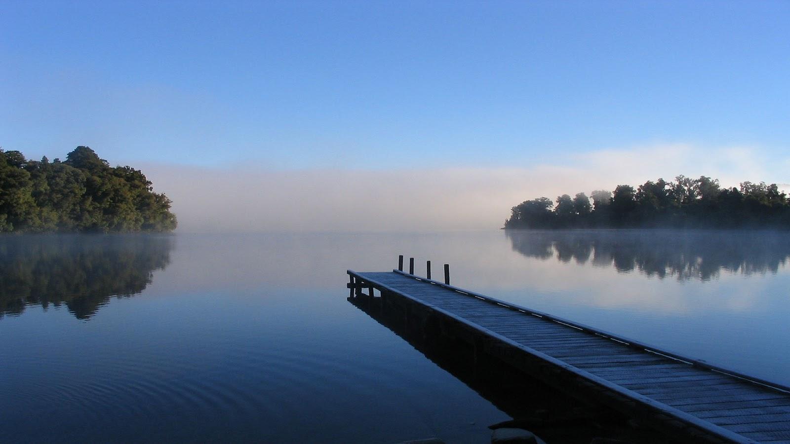 blue lake wallpaper 4k - photo #33