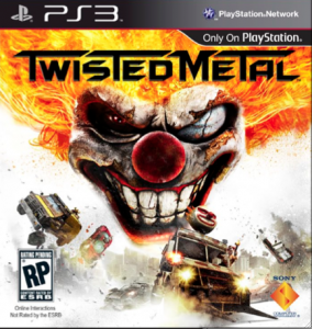 Twisted Metal Boxart