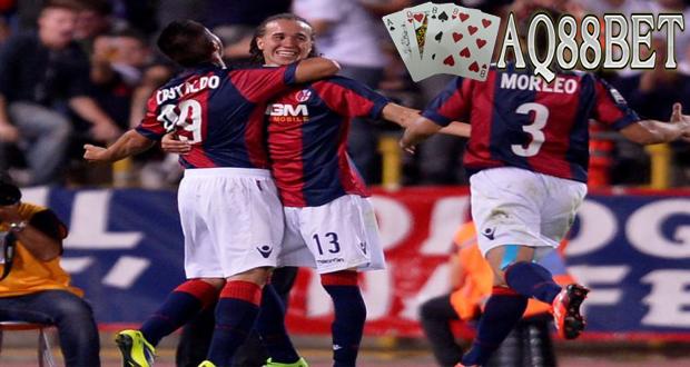 Agen Bola AQ88bet - Bologna dipastikan bermain di Liga Serie-A Italia musim depan. Kepastian itu didapat setelah mereka bermain imbang agregat 1-1 dengan Pescara pada final play-off Liga Serie-B.