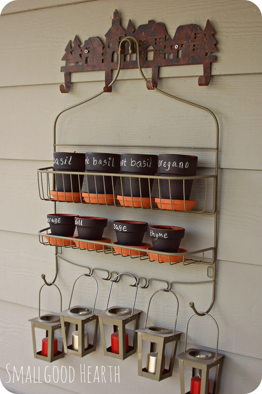 shower caddy vertical herb garden