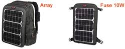 Backpack Solar Laptop Charger from Voltaic Systems