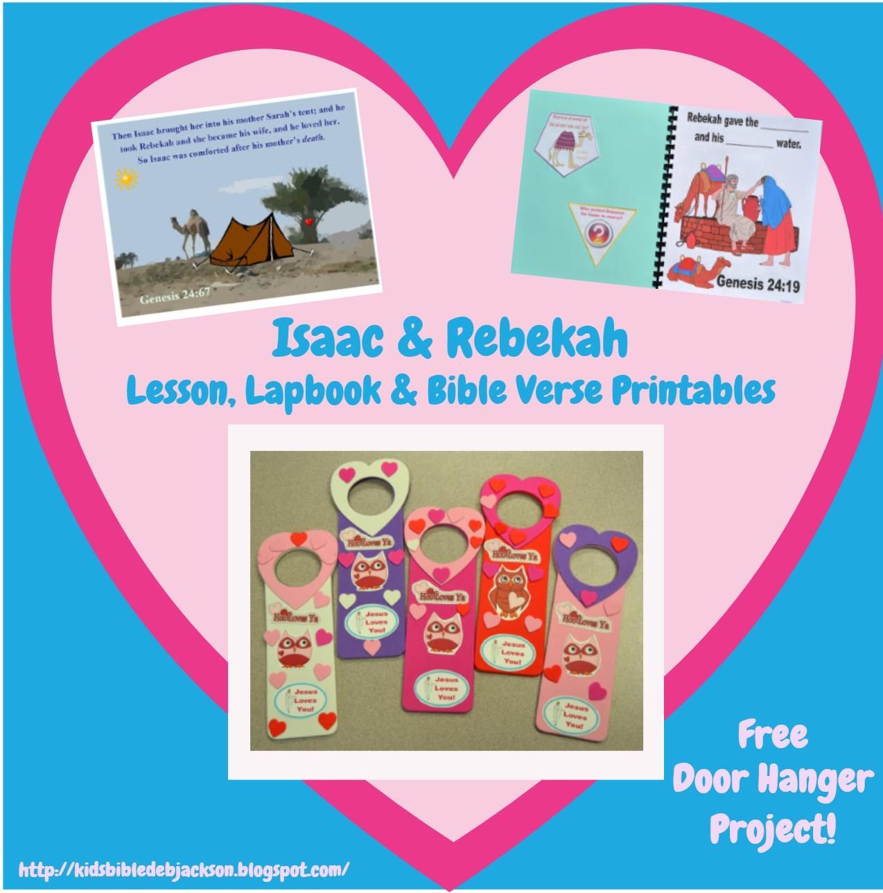 bible fun for kids 1 7 genesis rebekah at the well